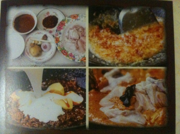 Melaka chicken curry ingredients and cooking steps