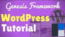 Setup and Customize the Genesis Framework